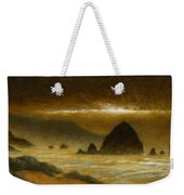 Cannon Beach Evening Weekender Tote Bag