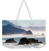 Cannon Beach On The Oregon Coast Weekender Tote Bag