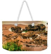 Cannon Beach, Oregon 3 Weekender Tote Bag by Shiela Kowing
