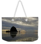 Cannon Beach Reflections Weekender Tote Bag