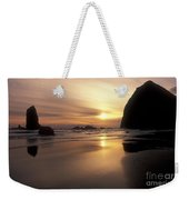 Cannon Beach Sunset-oregon Weekender Tote Bag