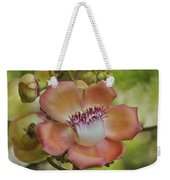 Cannonball Blossom Weekender Tote Bag