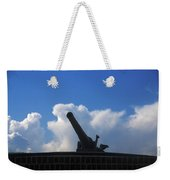 Cannons At Fort Moultrie Charleston Weekender Tote Bag