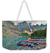 Canoe Paradise Weekender Tote Bag