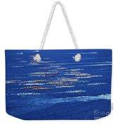 Canoe Race Weekender Tote Bag