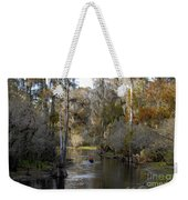 Canoeing In Florida Weekender Tote Bag