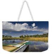 Canoeing In The Everglades Weekender Tote Bag by Debra and Dave Vanderlaan