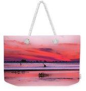 Canoeing On Color Weekender Tote Bag