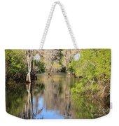 Canoeing On The Hillsborough River Weekender Tote Bag