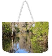Canoing On Hillsborough River Weekender Tote Bag