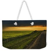 Canola And The Road Ahead Weekender Tote Bag