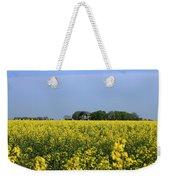 Canola Field Weekender Tote Bag