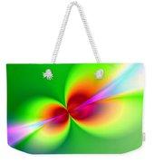 Canoodeling Neon Nodes Fractal Weekender Tote Bag