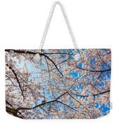 Canopy Of Cherry Blossoms Weekender Tote Bag