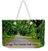 Canopy Road Weekender Tote Bag