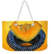 Cantaloupe Oil Painting Weekender Tote Bag