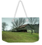Cantilever Barn Sevier County Tennessee Weekender Tote Bag