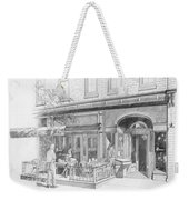 Cantina Restaurant In Saratoga Springs Ny Storefront Weekender Tote Bag
