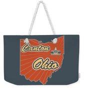 Canton Ohio Weekender Tote Bag