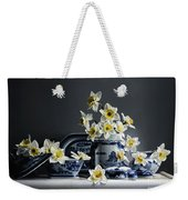 Canton With Daffodils Weekender Tote Bag