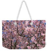 Canvas Of Pink Blossoms Weekender Tote Bag