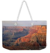 Canyon Dusk Weekender Tote Bag