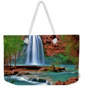 Canyon Falls Weekender Tote Bag