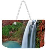 Canyon Falls Vertical Weekender Tote Bag