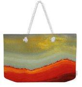 Canyon Outlandish Original Painting Weekender Tote Bag