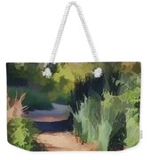 Canyon Path II Painterly Weekender Tote Bag