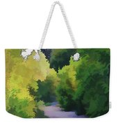 Canyon Path IIi Painterly Weekender Tote Bag