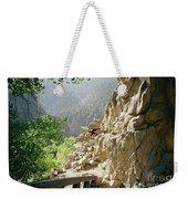 Canyon Rocks Horizontal Weekender Tote Bag