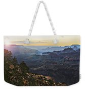Canyon Sundown Weekender Tote Bag