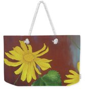 Canyon Sunflower Weekender Tote Bag