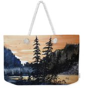 Canyon Trees, Watercolor Weekender Tote Bag