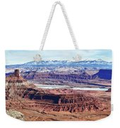 Canyonland Panorama Weekender Tote Bag