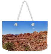 Canyonlands National Park - Big Spring Canyon Overlook Weekender Tote Bag