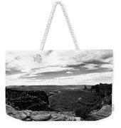Canyonlands National Park Utah Pan 06 Bw Weekender Tote Bag