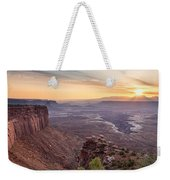 Canyonlands Sunrise Weekender Tote Bag