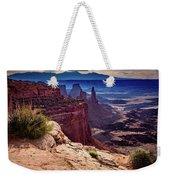 Canyonlands Vista  Weekender Tote Bag