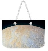 Canyons Around Plutos North Pole Weekender Tote Bag