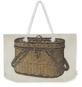 Cap Basket Weekender Tote Bag
