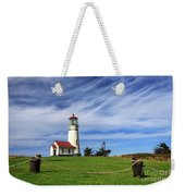 Cape Blanco Lighthouse Above The Rope Weekender Tote Bag