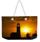 Cape Blanco Lighthouse Sunset 2 Weekender Tote Bag