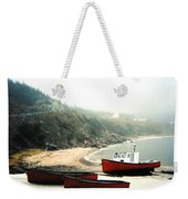 Cape Breton Fishing Boats Weekender Tote Bag