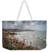 Cape Coast Fishing Village Weekender Tote Bag
