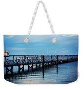 Cape Cod Blue  Weekender Tote Bag
