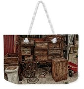 Cape Cod Cranberry Crates Weekender Tote Bag