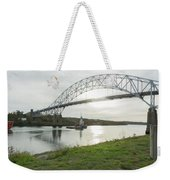 Cape Cod Sagamore Bridge Series #3 Weekender Tote Bag
