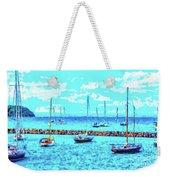 Cape Cod - Sailing Mecca Weekender Tote Bag